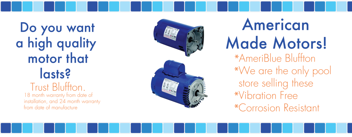 American Made Pool Motors